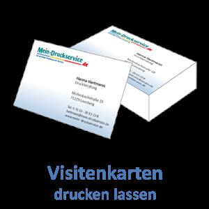 Visitenkarten Günstig Online Drucken